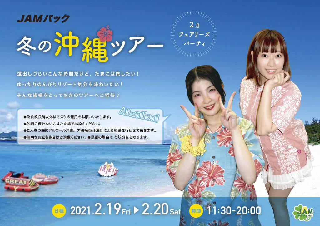 JAMパック 冬の沖縄ツアー